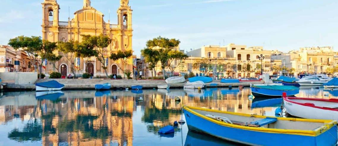Sicht auf Malta mit seinem Steuersystem